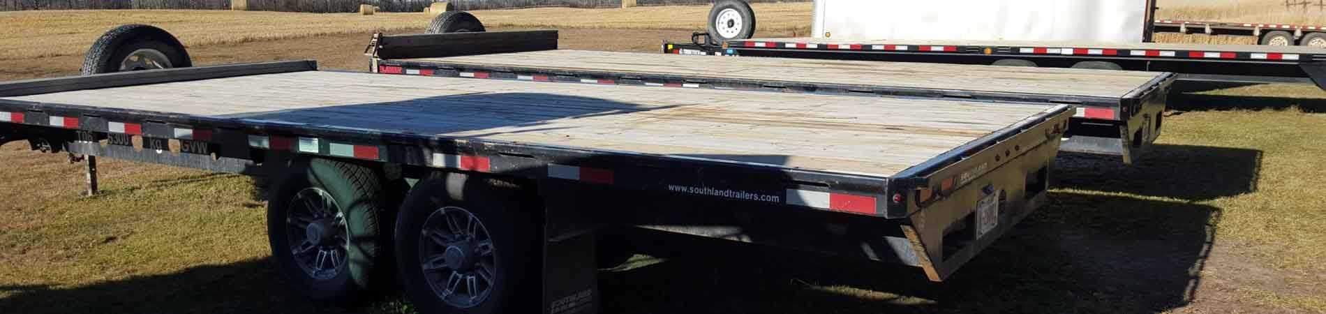 Trailer bed | trucking services Edmonton
